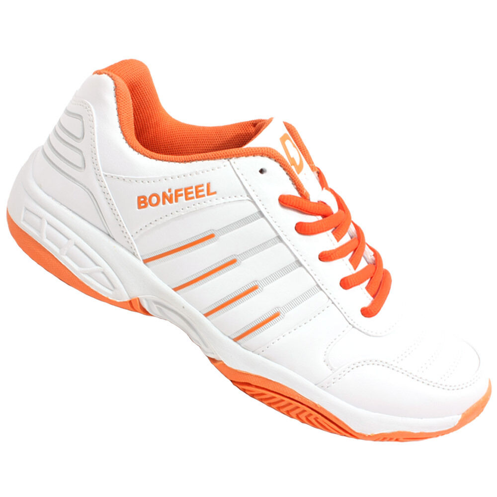bonfeel s athletic shoes tp orange tennis shoes