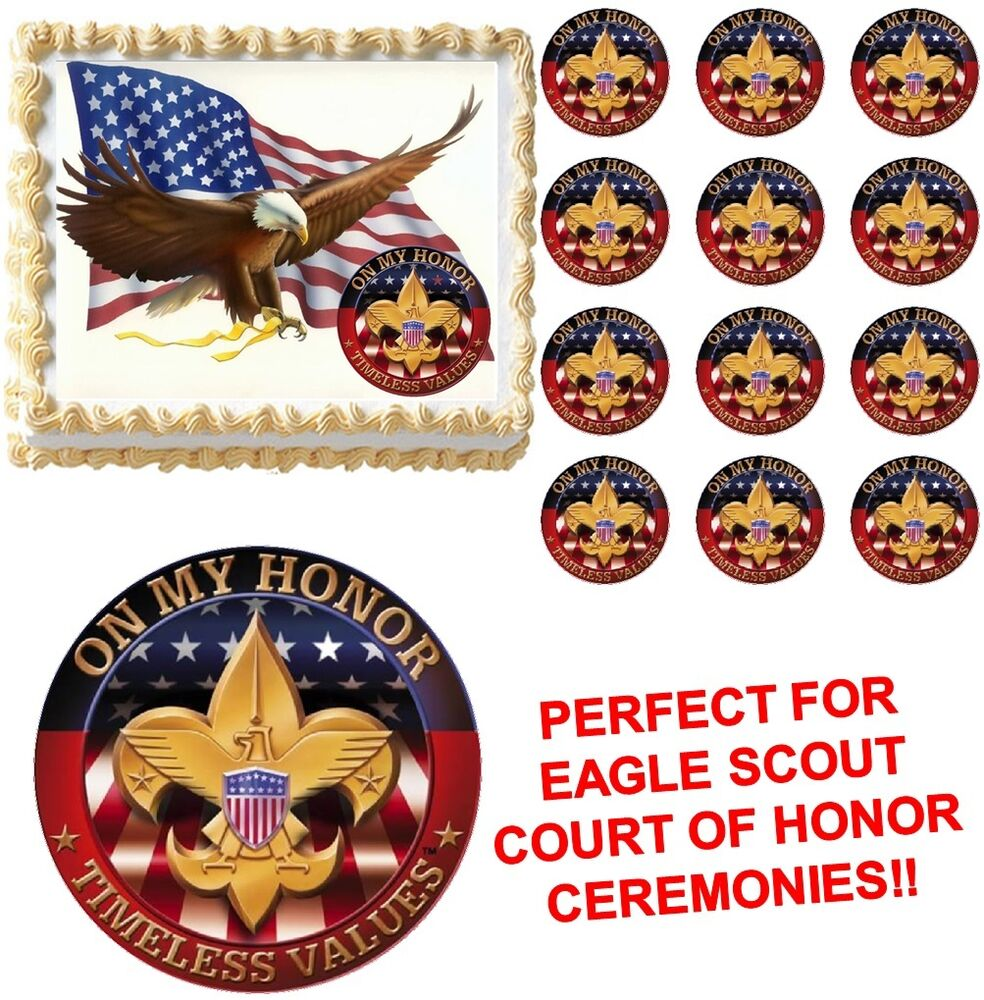 eagle scout cake decorations