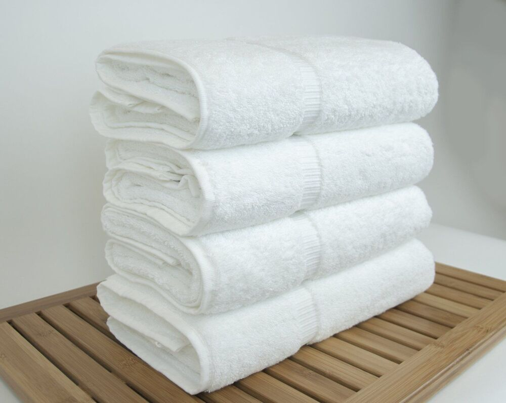 Spa bath towel hotel collection turkish cotton white soft for How to get towels white
