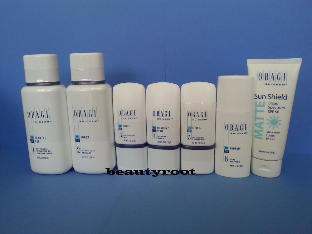 Obagi Nu Derm Fx System Normal To Oily Fullsize Kit W O
