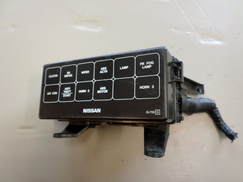1995 1999 nissan maxima oem underhood fuse box p n 7154. Black Bedroom Furniture Sets. Home Design Ideas