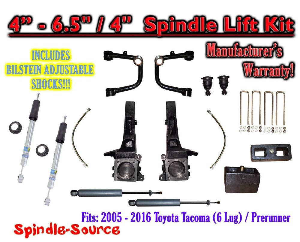 05 16 toyota tacoma prerunner 6 5 4 lift kit. Black Bedroom Furniture Sets. Home Design Ideas