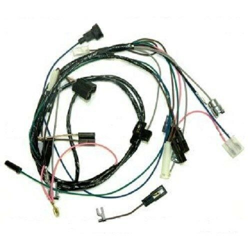 rally adapter wiring harness 4 non 64 67 pontiac gto lemans tempest ebay