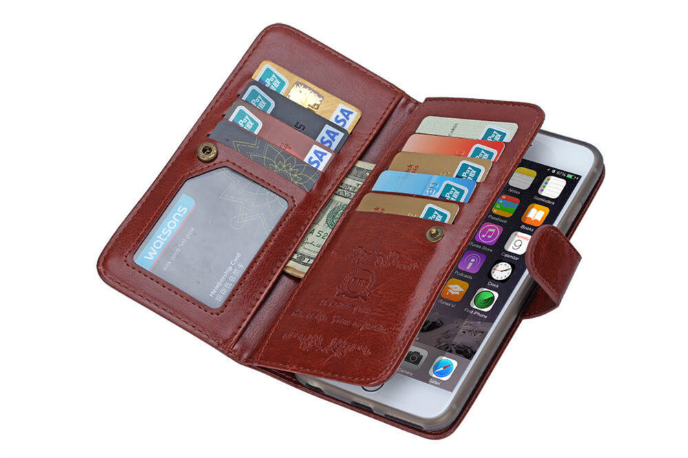 Leather Iphone Credit Card Case