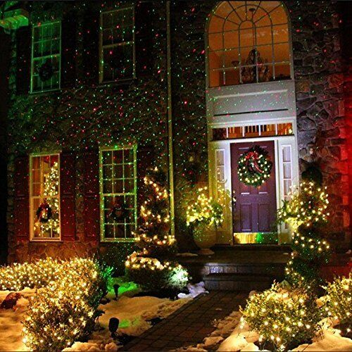 xmas light projector landscape lighting garden light show projector 10841