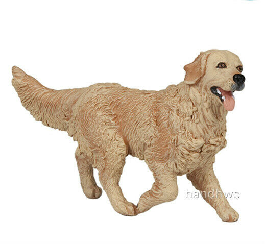 Fake Toy Dogs : Papo golden retriever toy dog canine animal replica
