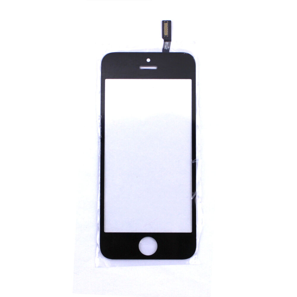 Replacement repair touch screen digitizer display glass lens for iphone 5s black ebay - Reparation telephone lens ...