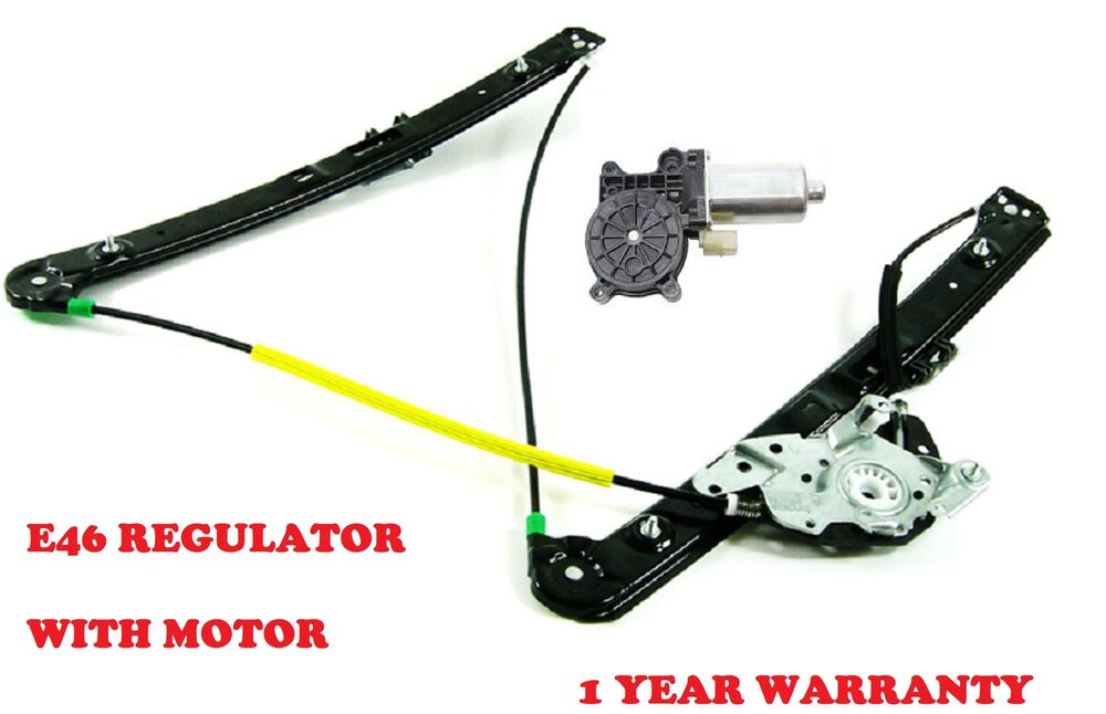 bmw e46 3 series front right window regulator with motor. Black Bedroom Furniture Sets. Home Design Ideas