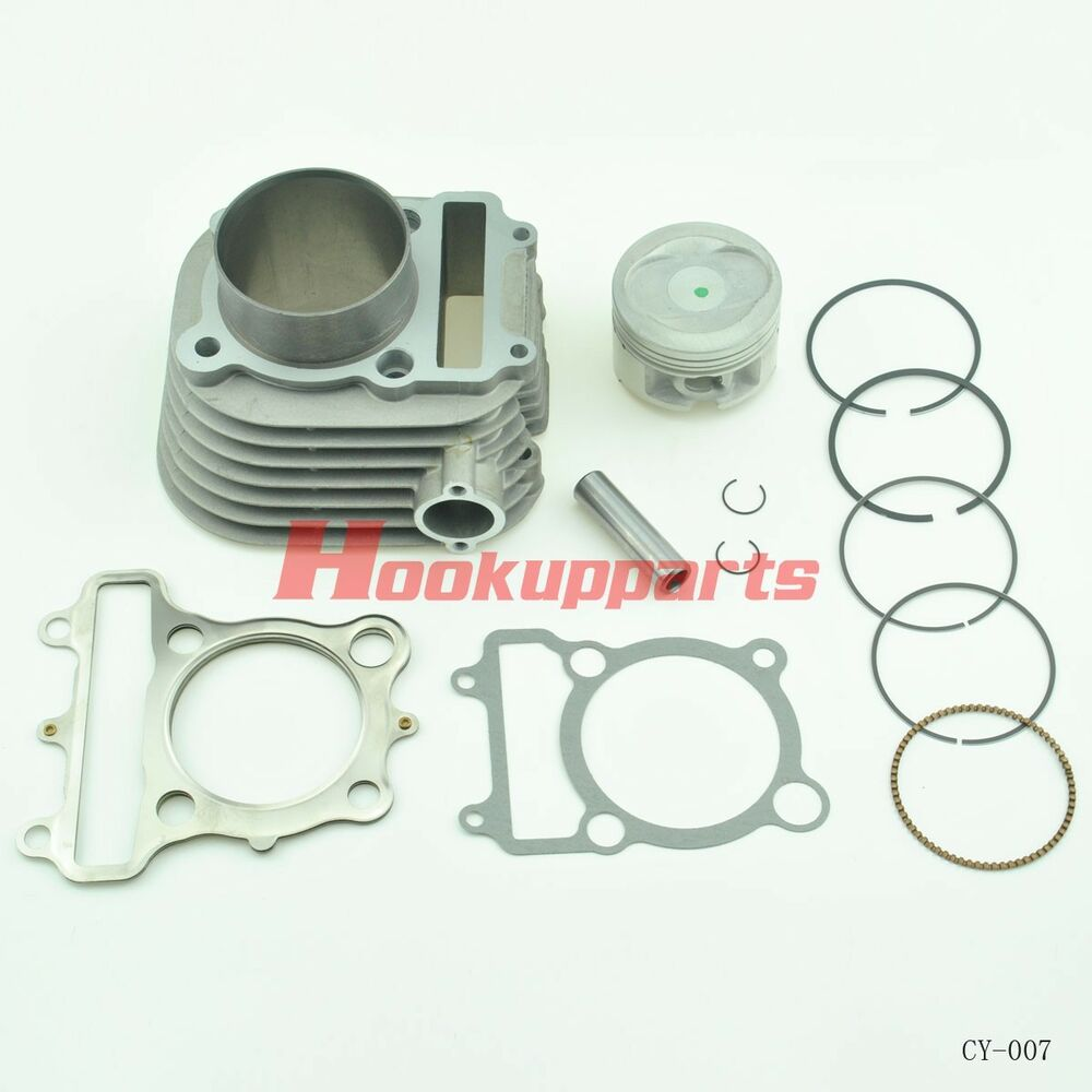 New Cylinder For Yamaha Timberwolf 250 Yfb250 Cylinder: For YAMAHA BEAR TRACKER 250 CYLINDER PISTON GASKET TOP END