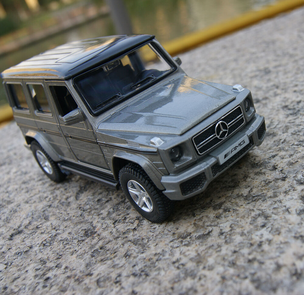 G63 amg mercedes benz alloy diecast model cars gray 1 35 for Mercedes benz toy car models