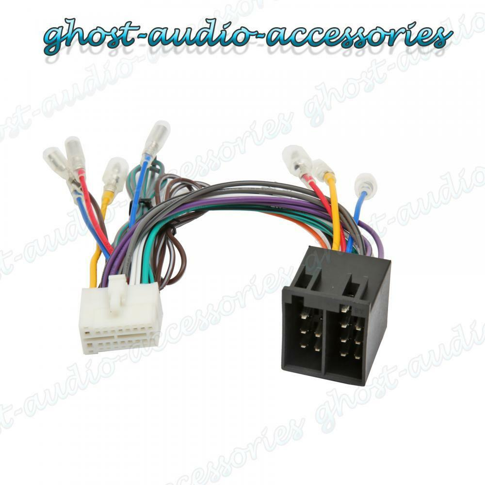 s l1000 clarion nx iso wiring harness connector adaptor car stereo radio  clarion vz409 wiring harness