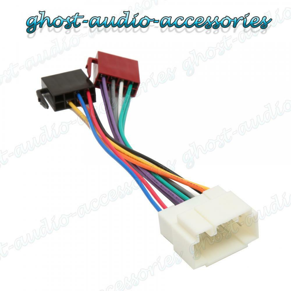Honda FR-V Car Stereo Radio ISO Wiring Harness Adaptor Loom HD-102 ...