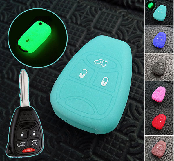 2016 Jeep Patriot Accessories >> FIT FOR JEEP COMPASS PATRIOT WRANGLER LIBERTY SILICONE KEY REMOTE CASE COVER FOB | eBay
