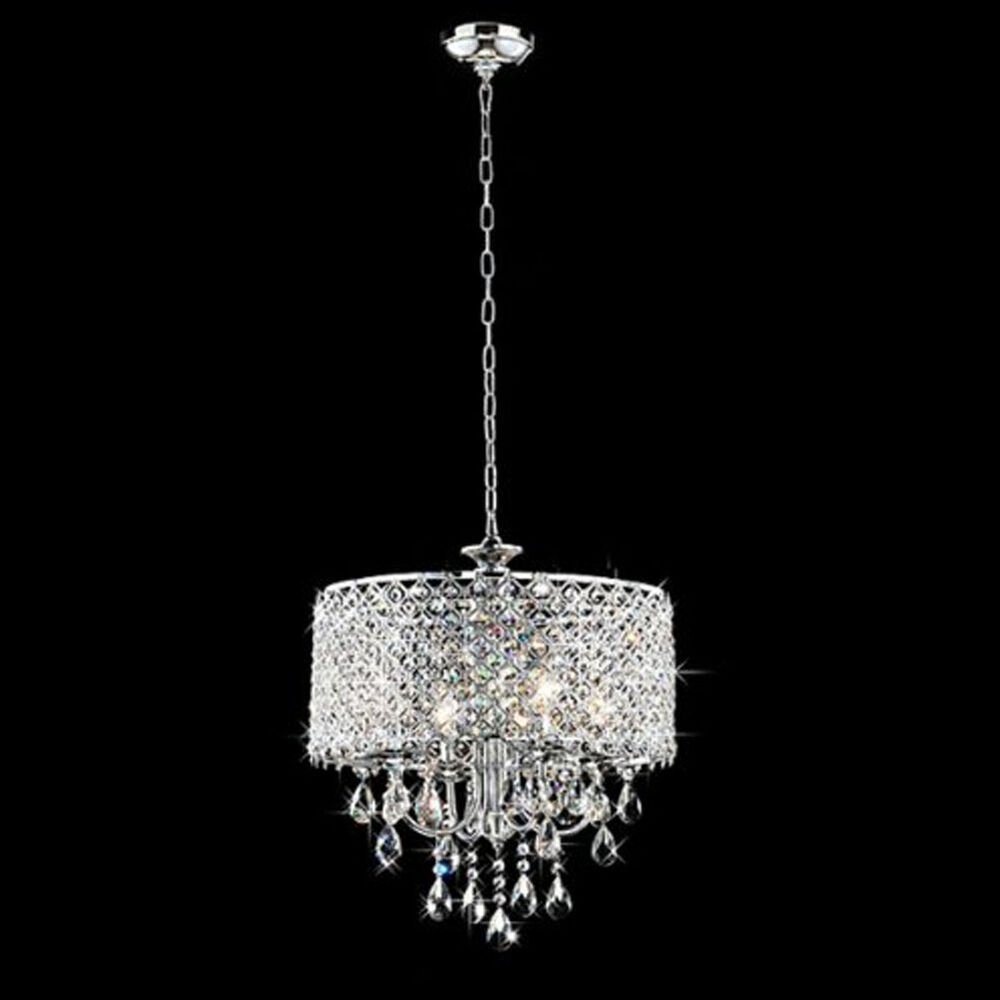 Modern Crystal Chandelier Ceiling Lamp Light Pendant