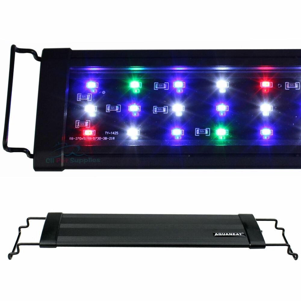 96leds 0 5w led light full spectrum for 48 60 aquarium. Black Bedroom Furniture Sets. Home Design Ideas