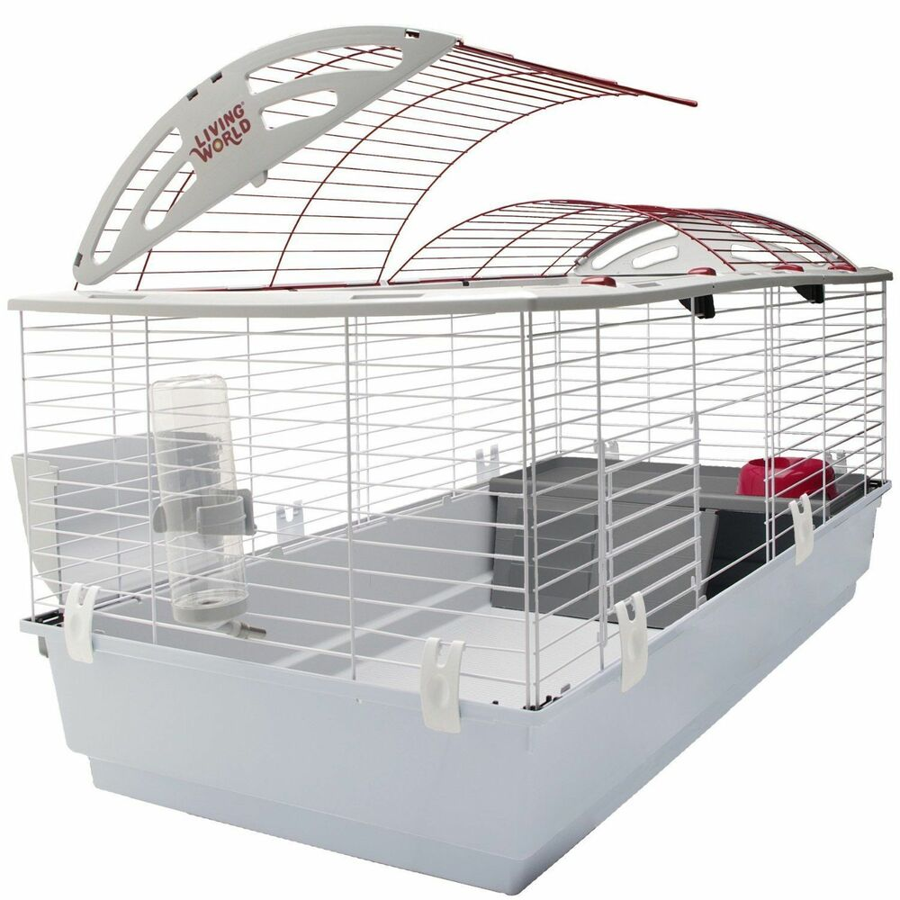 small pet cage large bunny guinea pig rabbit animal crate. Black Bedroom Furniture Sets. Home Design Ideas