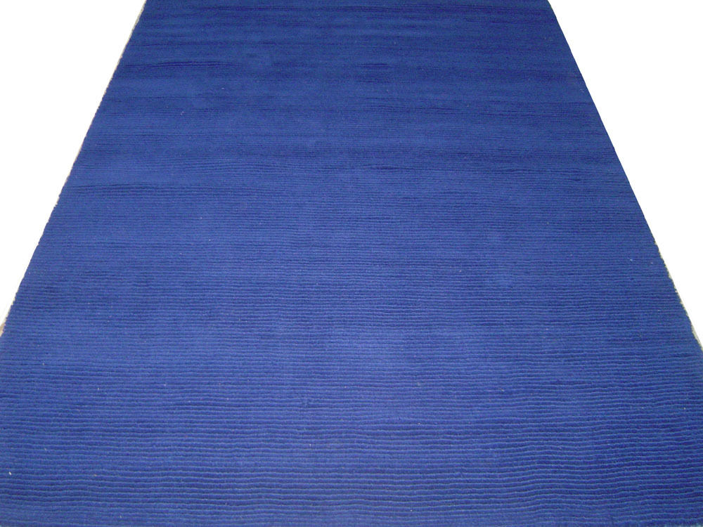 Indian Hand Tufted Thick Loop Cut Woolen Area Carpet Rugs