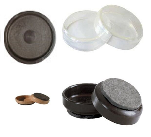 Furniture Feet Coasters: FURNITURE / FLOOR PROTECTOR Castor Cups Chair/Sofa Feet
