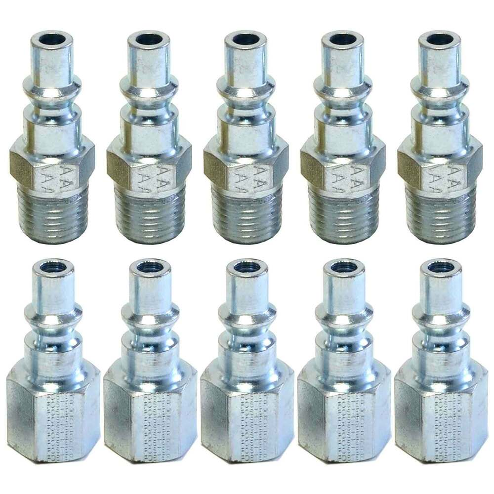 air hose fittings 10pc a style air hose fittings 1 4 quot npt plugs aro foster 10303