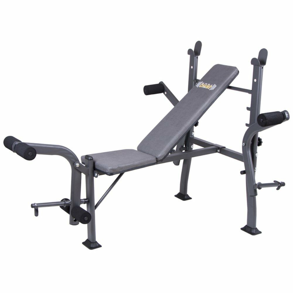 Body Champ BCB500 Standard Weight Bench with Butterfly ...