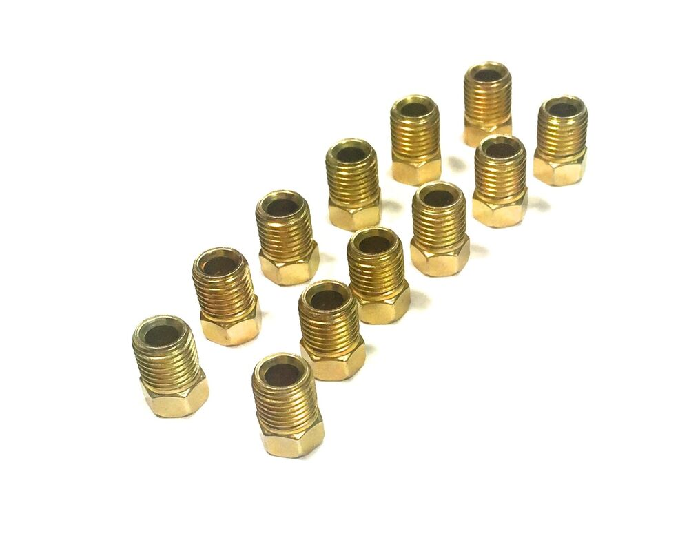 Pack of inverted flare fittings quot for