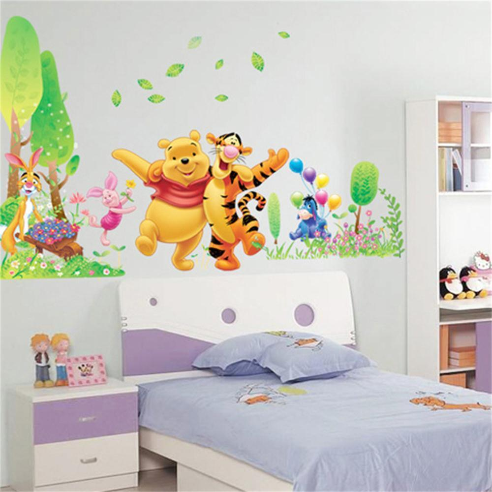 Winnie The Pooh Removable Kids Bedroom DIY Animal Decor