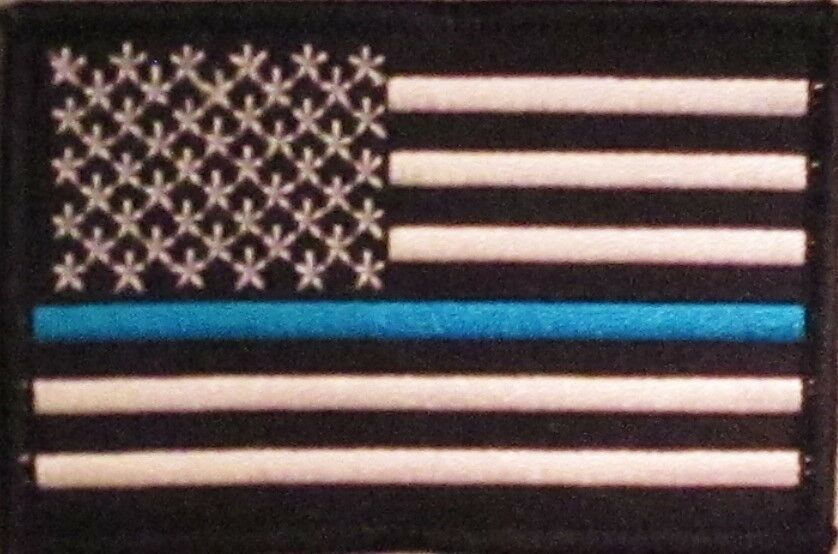 law enforcement american flag - photo #23