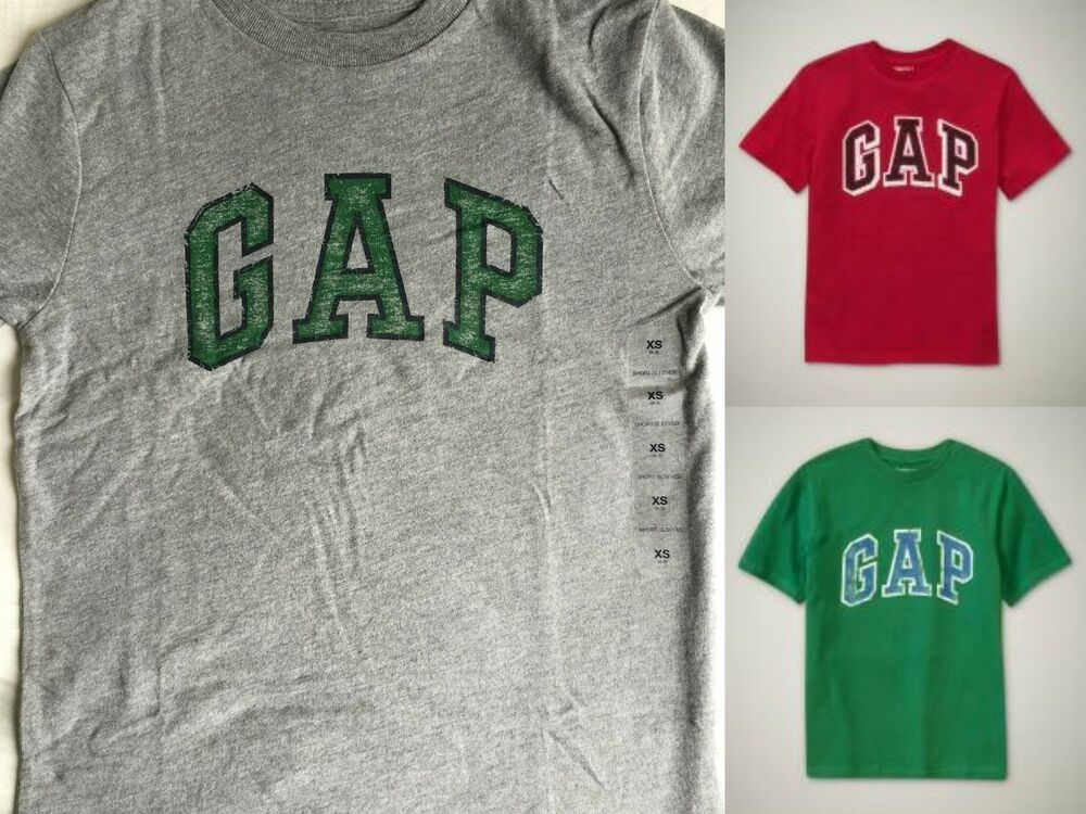 Nwt gap kid favorite arch logo graphic tee t shirt tees for Gap petite t shirts