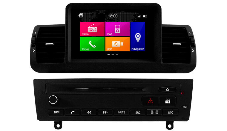 navigation ipod bluetooth dvd gps nav touch screen bmw 1. Black Bedroom Furniture Sets. Home Design Ideas