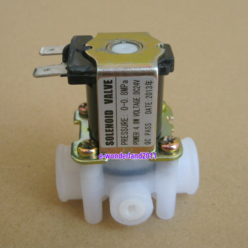 Dc v female thread waste water flush solenoid