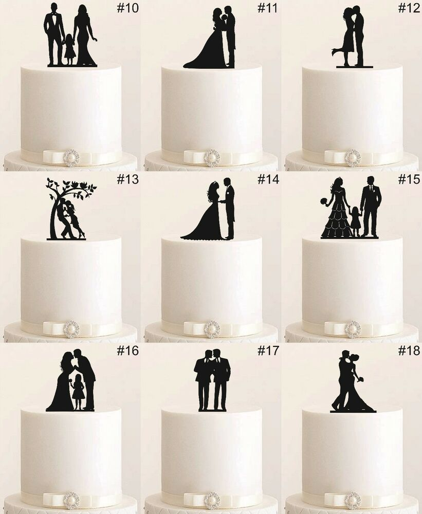 tortenfigur cake topper wedding hochzeit etagere acryl tortenstecker figur neu ebay. Black Bedroom Furniture Sets. Home Design Ideas
