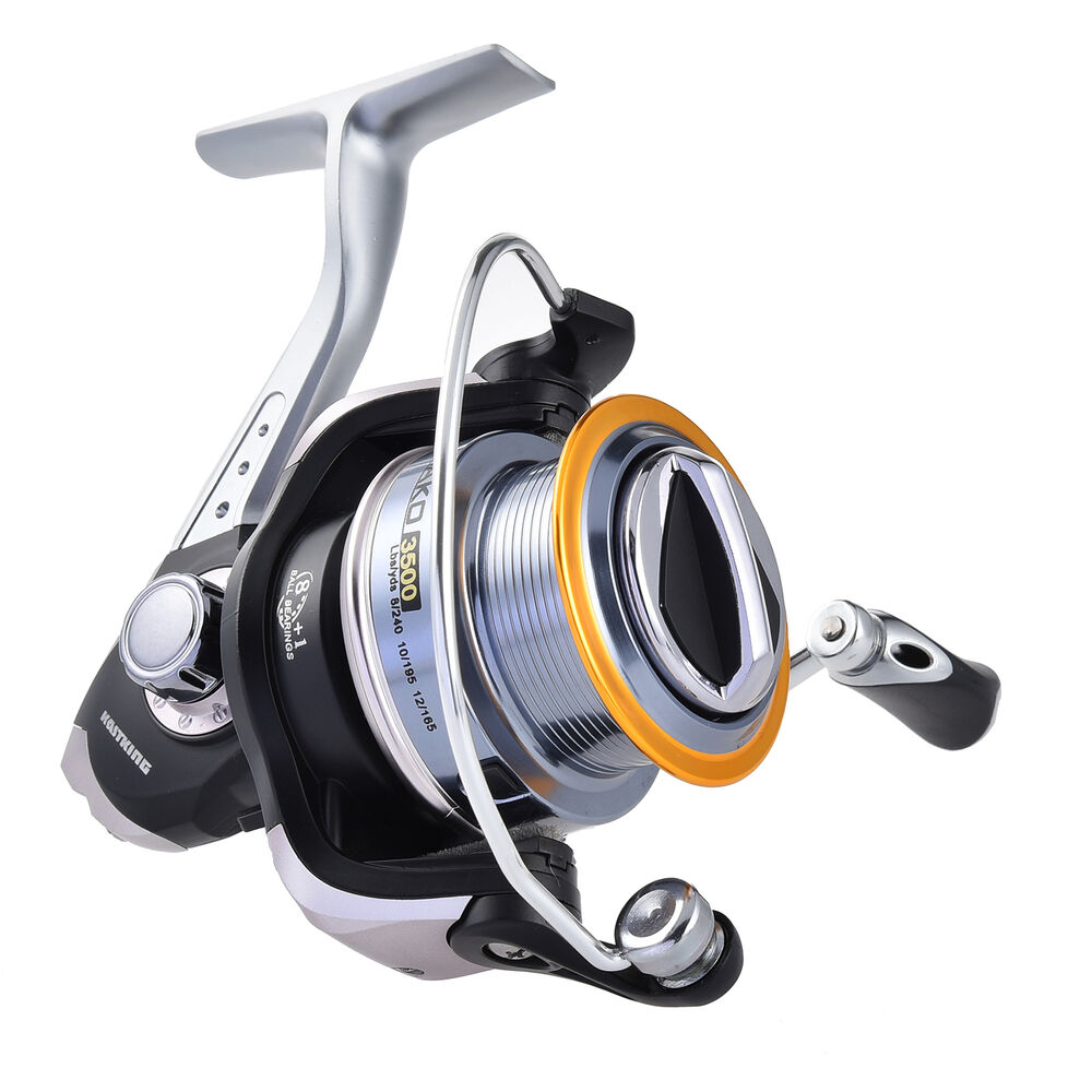 Kastking mako 3500 spinning fishing reel 91cm fast line for Ebay fishing reels
