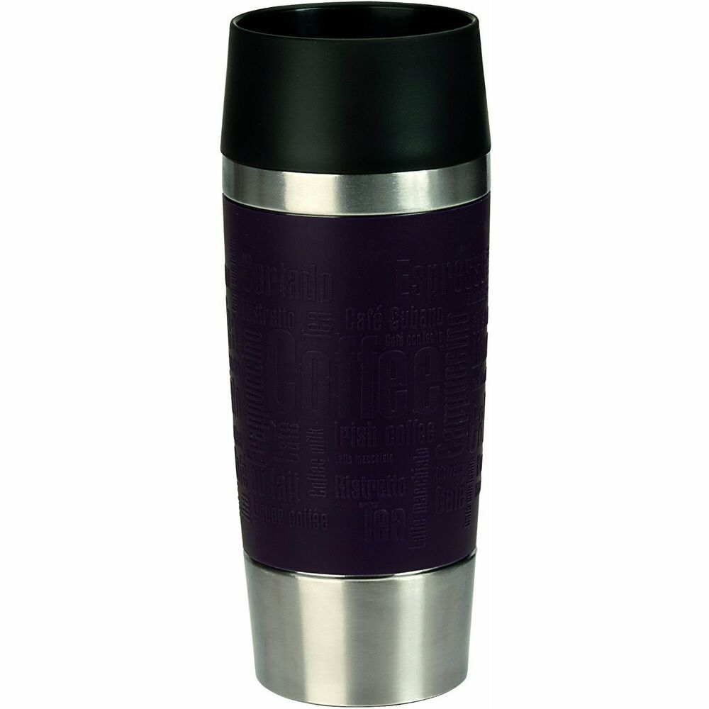 emsa travel mug thermal cup stainless steel thermos ebay. Black Bedroom Furniture Sets. Home Design Ideas