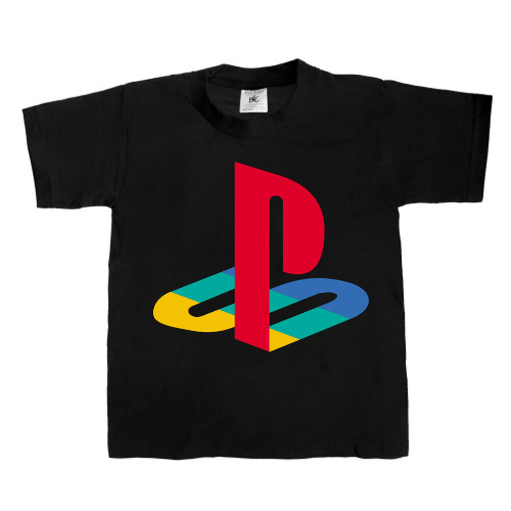 Playstation T Shirt Mens Kids Womens X Box Game Unisex T
