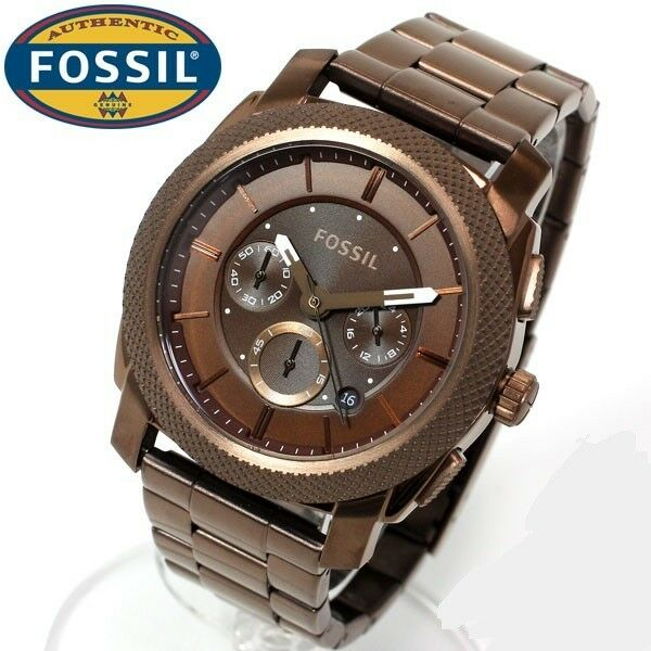 FOSSIL MEN'S LUXURY DRESS STYLE COLLECTION BROWN WATCH ...