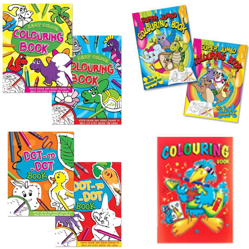 Colouring book childrens color activity adult kids a4 Colouring books for adults ebay