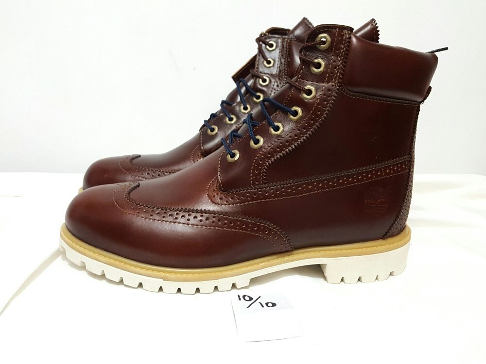 Timberland Boot Brogue Brown Wingtip 6 Quot Quartz Chestnut