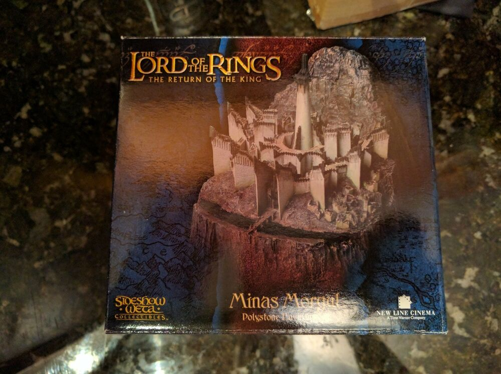Sideshow weta the lord of the rings minas morgul tirith lotr hobbit rotk rare ebay - Lord of the rings bookends ...