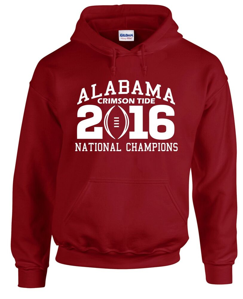Alabama crimson tide hoodie sweatshirt 2015 2016 national Alabama sec championship shirt