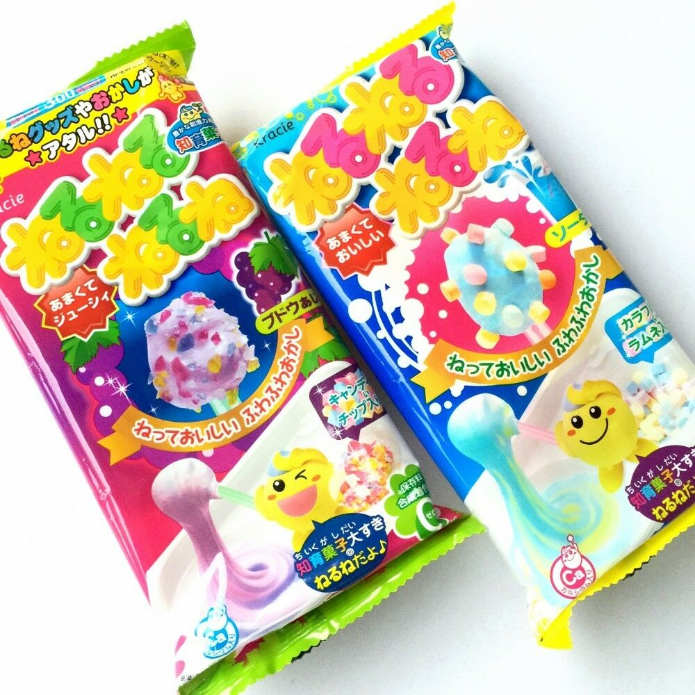 KRACIE Popin Cookin DIY candy kits nerunerunerune Grape Soda Japan ...