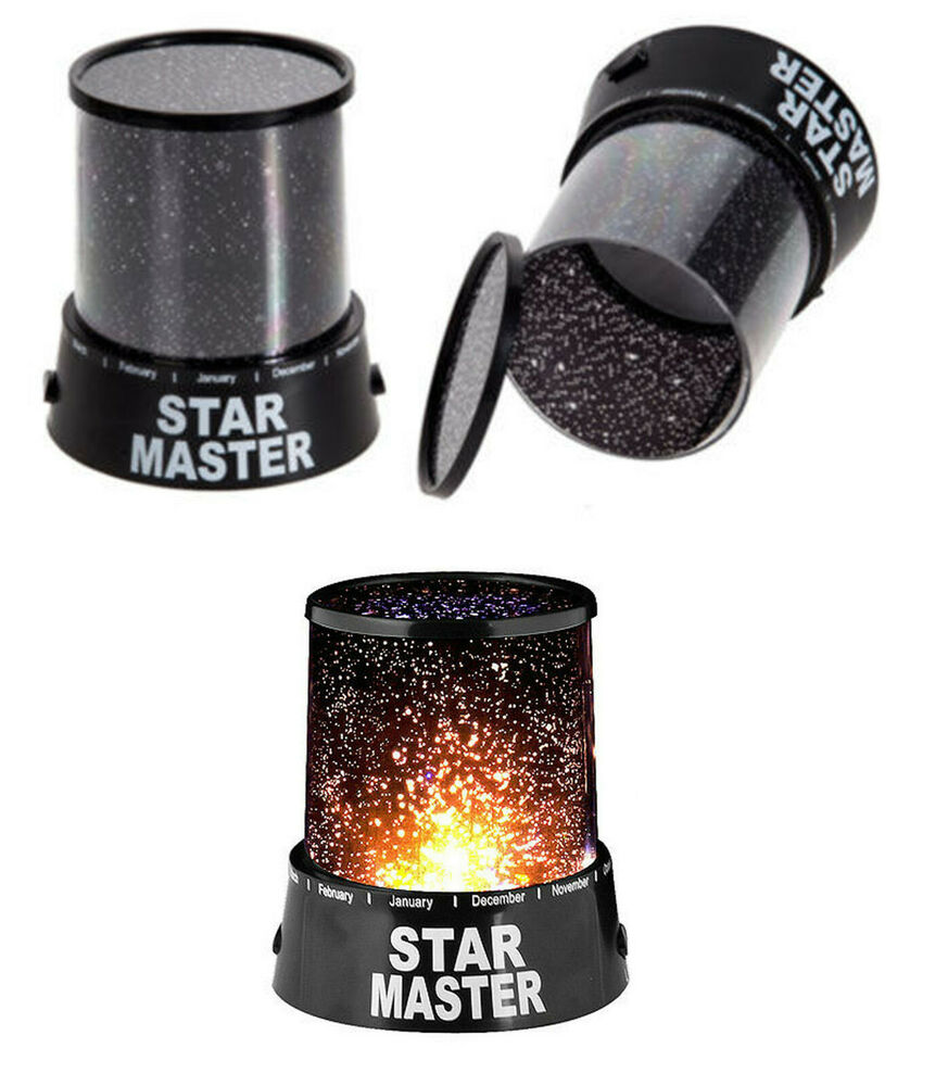 master night light sky led projector mood lamp kids bedroom ebay. Black Bedroom Furniture Sets. Home Design Ideas