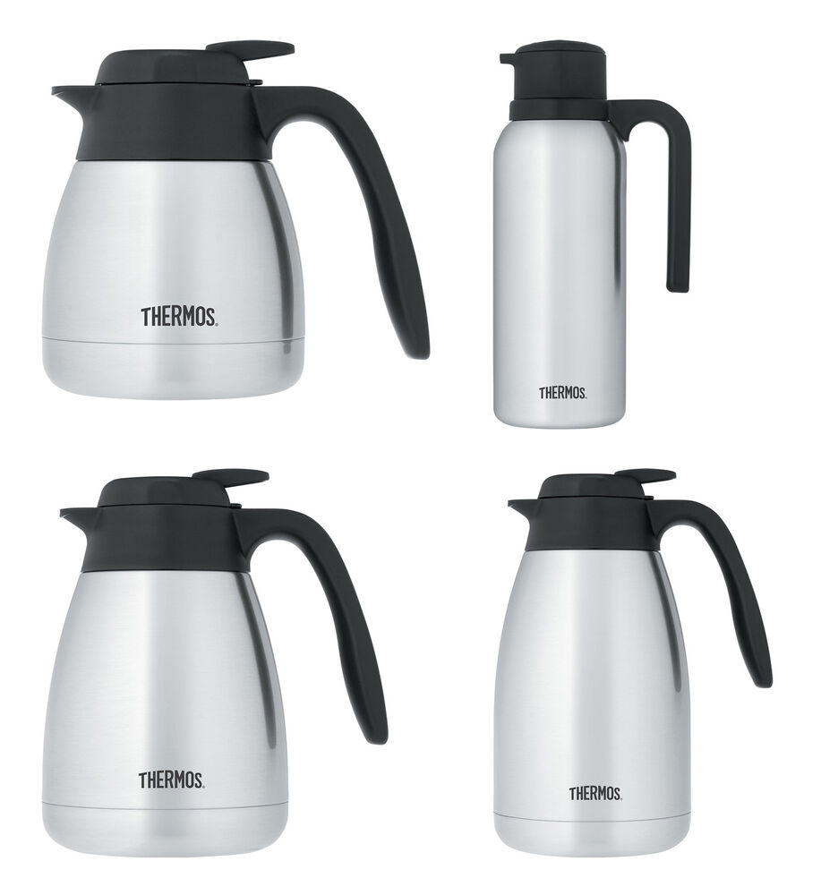 Thermos Vacuum Insulated Stainless Steel Carafes Ebay