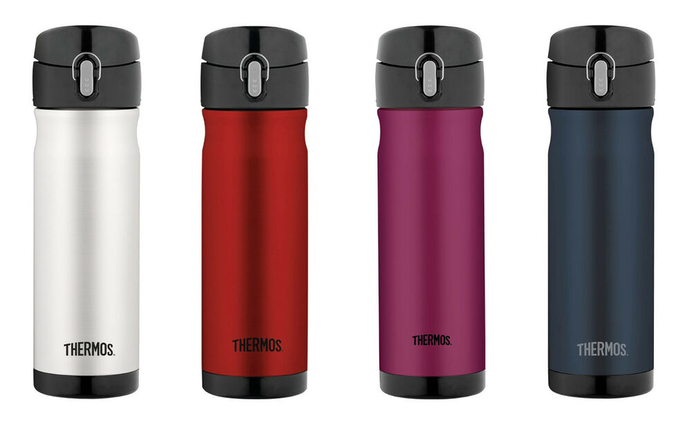 Thermos 16 Ounce Stainless Steel Commuter Bottle 5 Colors