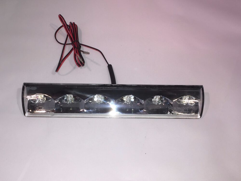 Truck Cap Topper 3rd Third Brake Light Led Recessed
