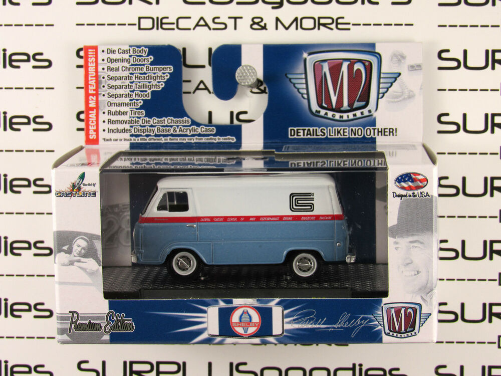 M2 MACHINES 1:64 Scale Detroit Muscle R29 1965 FORD SHELBY ... |Shelby Econoline