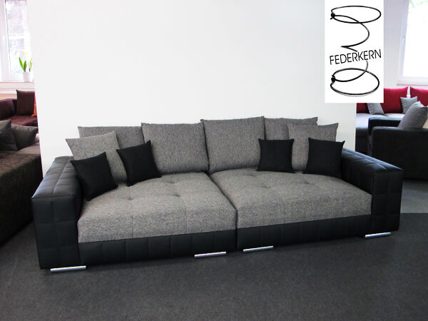 big sofa style mega xxl couch schlafsofa federkern made. Black Bedroom Furniture Sets. Home Design Ideas