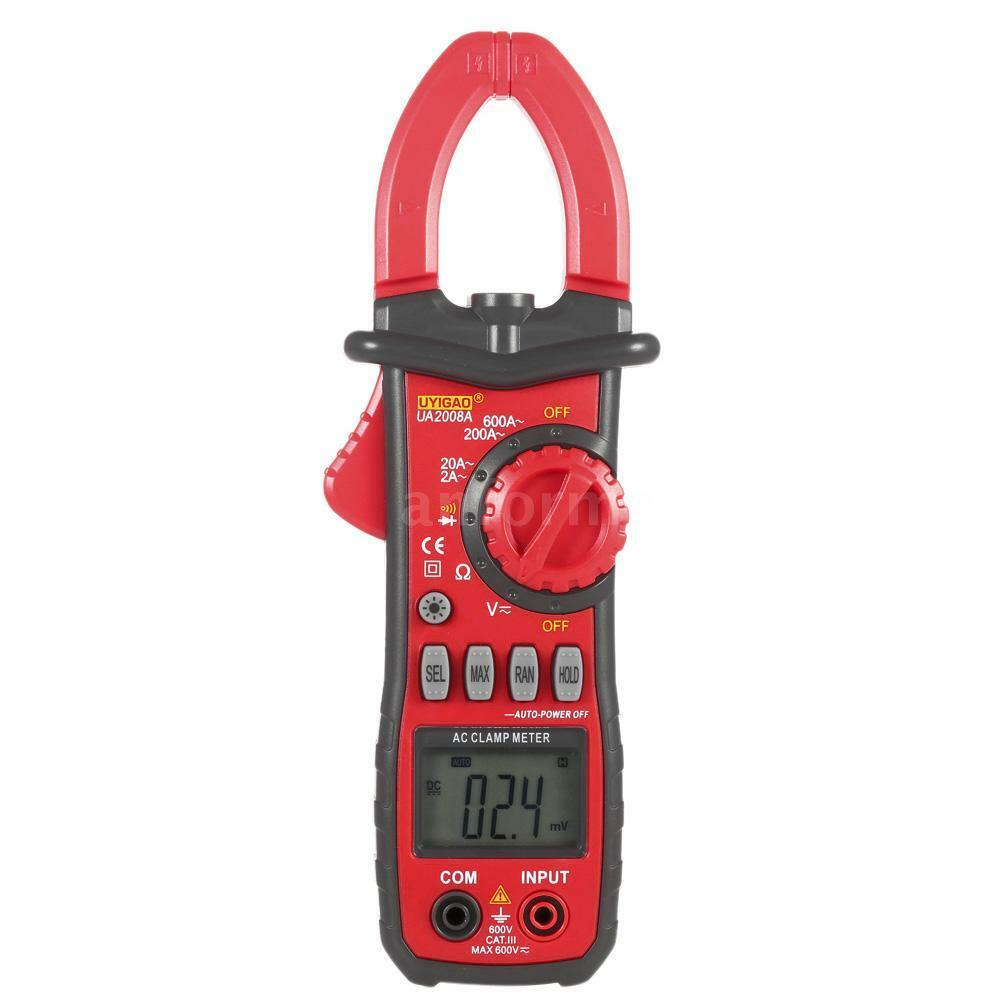 Voltage Clamp Meter : Ua a digital clamp meter multimeter dc ac voltage