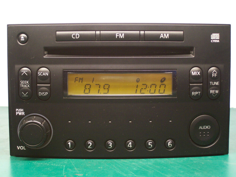 2004 2005 nissan 350z radio single cd player pp 2515l 28185 cd001 ebay. Black Bedroom Furniture Sets. Home Design Ideas