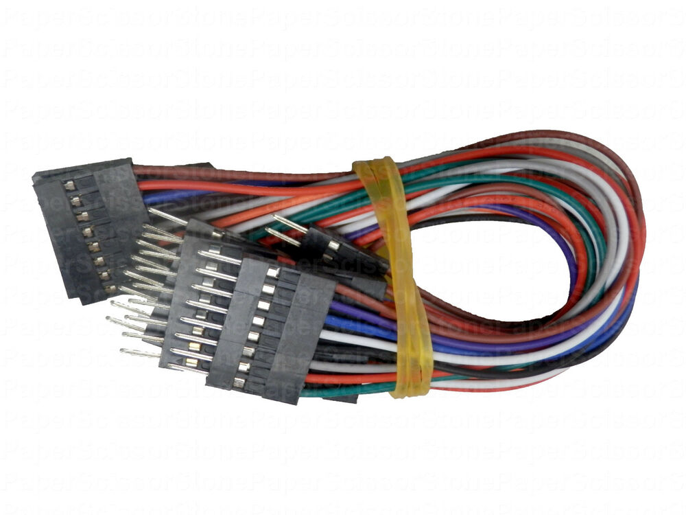 Arduino Jumper Cables : Inch pin female male arduino jumper cables