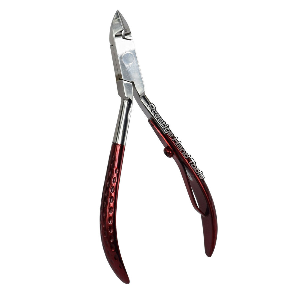 Prestige Professional cuticle nail art nippers clippers manicure Red ...